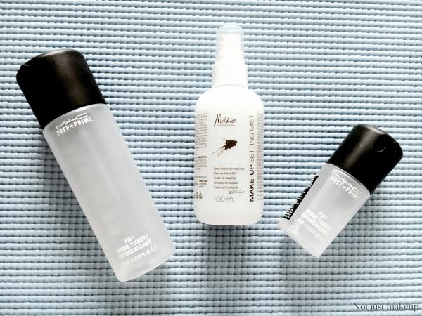 MAC Prep+Prime Fix + vs Melkior Make-Up Setting Mist | revew